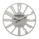 N'crea Home Beyaz Metal Saat