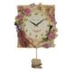 Regal 19001 PI Çiçek Desenli Duvar Saati