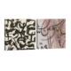 Dekorjinal Etnik Desenli 2 Parçalı Tablo Saat Seti CHNE171