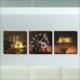 M3Decorium İstanbul Ve Gece Kanvas Tablo Duvar Saati
