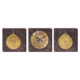M3Decorium Antik Saat Desenli Kanvas Tablo Duvar Saati