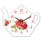 Clockmaker 30x25 MDF Demlik Duvar Saati CMM213