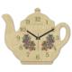 Clockmaker 30x25 MDF Demlik Duvar Saati CMM220