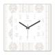 Clockmaker 30x30 Mdf Duvar Saati CMM232