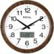 Regal 0532 Büyük Boy Isı Ölçer Takvimli Klasik Duvar Saati