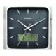 Regal 028 Sbz Isı Ölçer Takvimli Digital Analog Duvar Saati