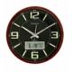Regal 5802 Ablz Fosforlu Isı Ölçer Takvimli Duvar Saati