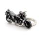 Solfera Motorsiklet Antrasit Metal Anahtarlık Kc489