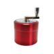 Dreamliner Kırmızı 55 mm Mixerli Grinder,Çelik Tütün Parçalayıcı pt46