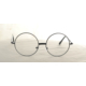 Modaroma Harry Potter Yuvarlak Gözlük Siyah K