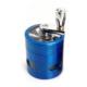 Dreamliner Mini Boy Mavi Renk 40 Mm. Çelik Grinder Tütün Parçalayıcı Pt97Mv