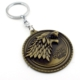Solfera Game Of Thrones Stark Hanesi Bronz Metal Anahtarlık KC644