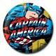 Rozet - Marvel Captain America