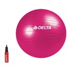 Delta Dura-Strong Fusya Deluxe Pilates Topu ( 65 cm Pilates Topu + Pompa )