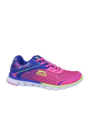 Slazenger Wayra Koşu Kadın Ayakkabı Mavi - Pembe