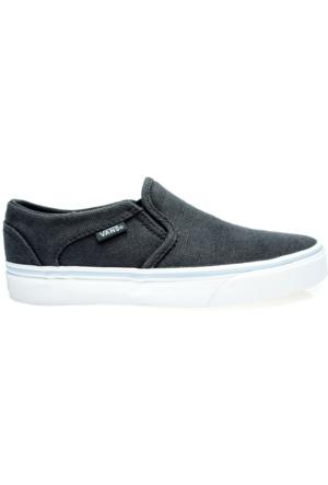 Vans Asher Kadın Lacivert Kaykay Ayakkabısı (VVOSIQZ)