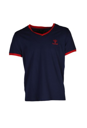 Hummel Erkek T-Shirt Classic Bee V Neck T09047-7459