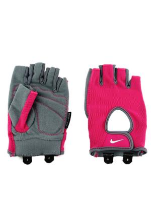 Nike Aksesuar Womens Fundamental Fitness Gloves S Vivid Pink/Cool Grey/Whi