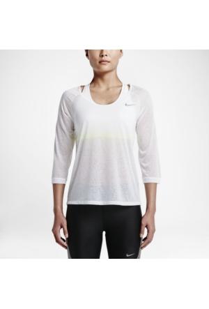 Nike 719872-100 Df Cool Breeze 3/4 Sleeve Kadın T-Shirt