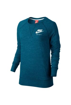 Nike 726055-301 W Nsw Gym Vntg Crw Kadın T-Shirt