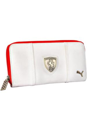 Puma Ferrari LS Wallet whisper white-rosso co