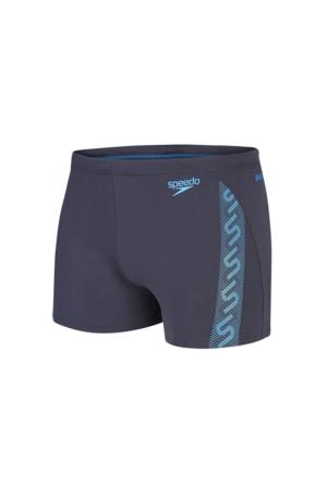 Speedo Monogram Gry Blu Mayo
