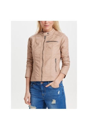 Only Deri Ceket Onlnew Start Faux Leather 15119515-TAU