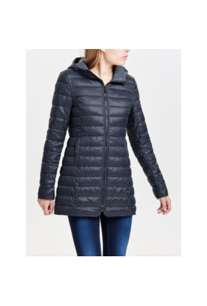 Only Mont Onltahoe Quilted Contrast Coat 15118834-BLU
