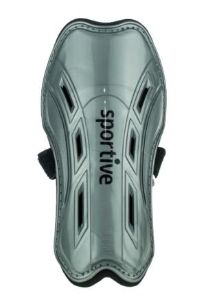 Sportive Shinguards Gümüş Unisex Spor Malzemeleri