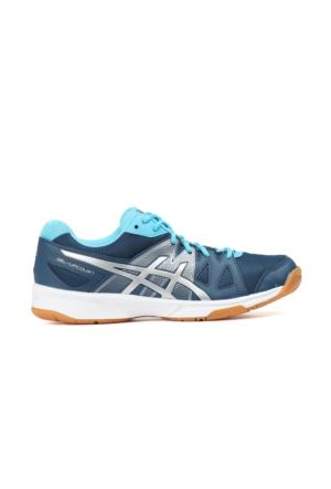 Asics B450N-5893 Gel Upcourt Voleybol-Badminton Ayakkabısı + Renkli Bağcık