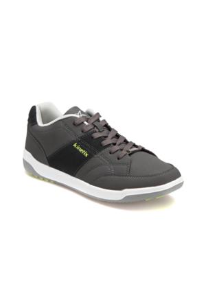 Kinetix A1311183 Koyu Gri Neon Yeşil Erkek Sneaker