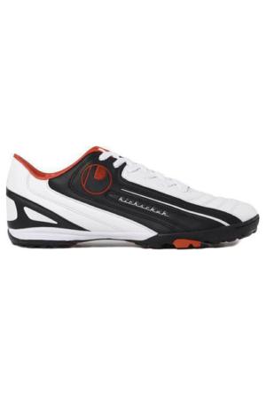 Uhlsport Kickschuh Turf Halısaha Ayakkabısı Siyah - Beyaz - Kırmızı