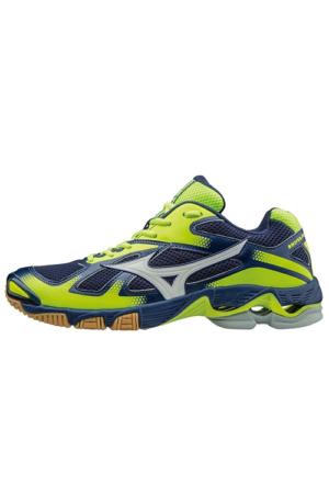 Mizuno 66002 Wave Bolt 5 Voleybol Ayakkabısı Renkli Bağcık