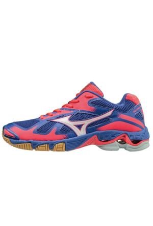 Mizuno 66005 Wave Bolt 5 Voleybol Ayakkabısı Renkli Bağcık