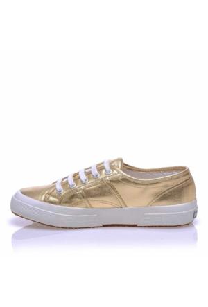 Superga S002Hg0-174 2750 Cotmetu Gold Kadın Günlük Ayakkabı