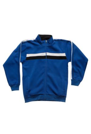 Sportive Erkek Fermuarlı Ceket 500201-XBL