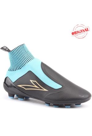 Lig Euromos Krampon Çim Boğazlı Halısaha Futbol Erkek Spor Ayakkabı