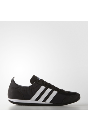Adidas VS JOG Erkek Siyah Spor Ayakkabı (AQ1352)