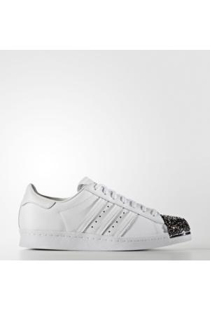 Adidas Superstar 80S Metal Toe Kadın Beyaz Spor Ayakkabı (S76532)