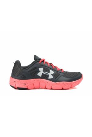 Under Armour Siyah - Pembe Unisex Koşu Ayakkabısı 1285112-008