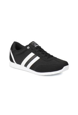 Kinetix AVILA M MESH Siyah Beyaz Erkek Sneaker Ayakkabı