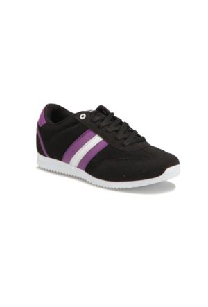 Kinetix AVILA MESH W Siyah Mor Kadın Sneaker Ayakkabı