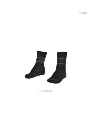 Lescon La-2180 Tenis Çorap Uzun (40-45)-2 Li