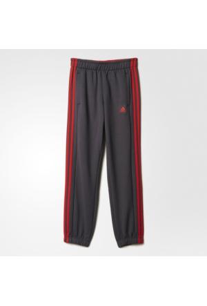 Adidas Essentials 3S Brushed Çocuk Gri Pantolon (Ay8239)