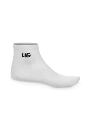 Lig Patik Çorap Beyaz
