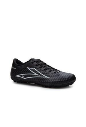 Lig Sorgun Halı Saha Ayakkabısı Siyah-Gümüş