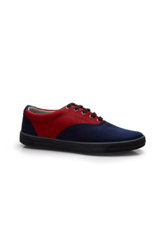 Lig 15-01-10 Spor Ayakkabı Lacivert-Bordo