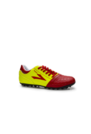 Lig Pedesa Halı Saha Ayakkabısı Kırmızı-Sarı