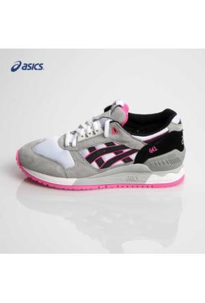 Asics Y02831 H5W2L Gel Respector White/Black Spor Ayakkabı