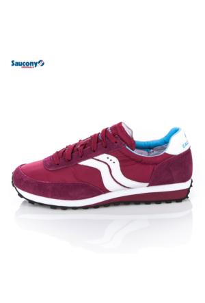 Saucony 2937-29 Trainer 80 Dark Red Ayakkabı